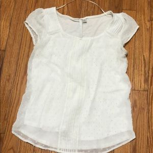 Lauren Conrad short sleeve blouse